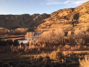 Glenwood Canyon, from the train window